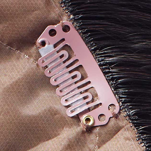 Sturdy metal silicone-lined clips